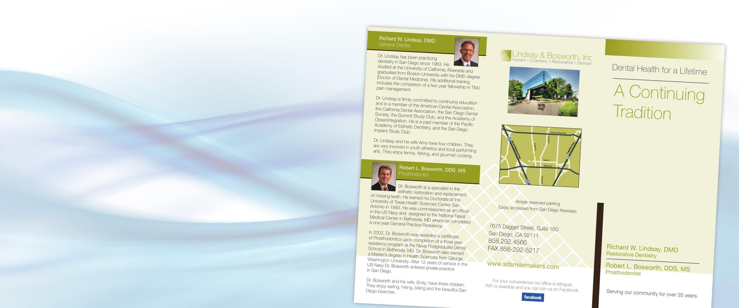 medical practice brochures
